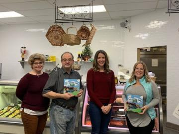 "Join us this Saturday, December 12th from 10am to 1pm.  Kristen will be on hand to sign copies of her charming book ""All Around Town"", a wonderful collection of things to see and do right here in Allen (Yep- Elke's is in there!).  Books will be available for purchase at $14.99 (while supplies last)"